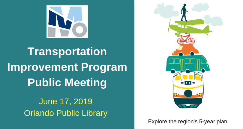 Transportation Improvement Program Public Meeting. June 17, 2019 Orange Public Library