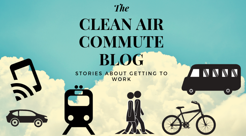 The clean air commute blog, stories about getting to work